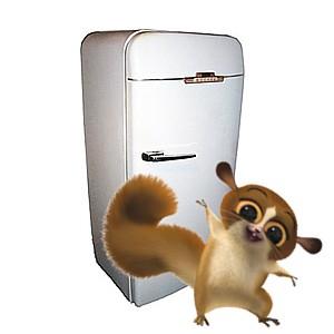 Оригинальное применение старого холодильника
