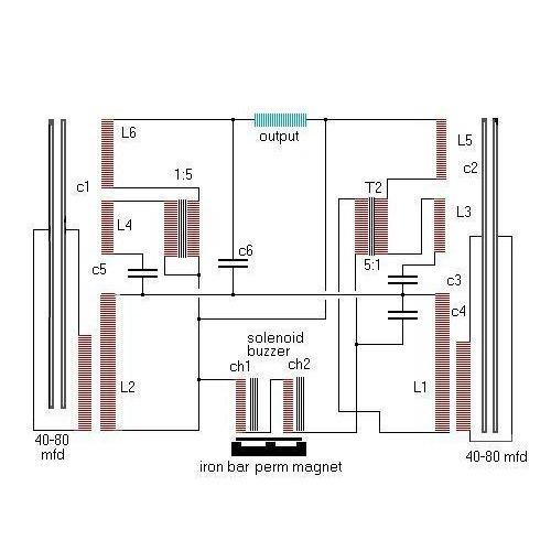 Правильная схема генератора Хендершота